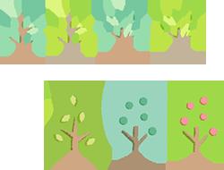 樹木イラスト1
